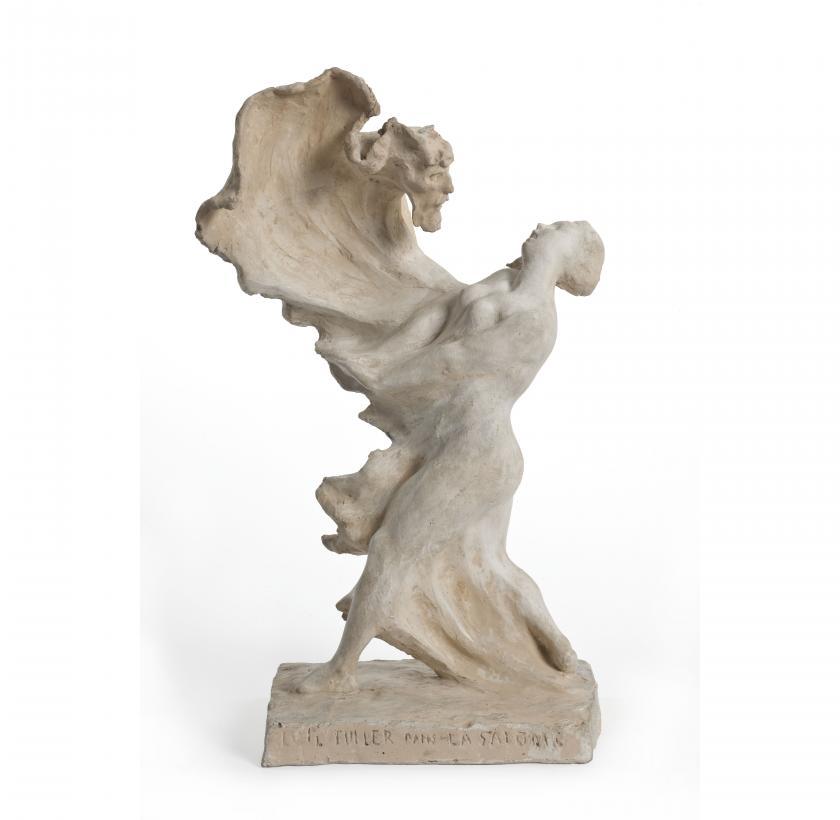 Loïe Fuller dansant dans salomé