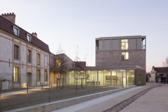 Le musée Camille Claudel avant son ouverture au public.